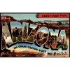 Arizona - Large Letter Postcard Americas