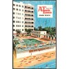 Atlantic Towers, Hotel - Miaimi Beach, Florida Postcard Americas