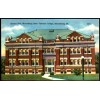 Bloomsburg, Pa - Science Hall State Teachers College - Linen Postcard Schools, Universities