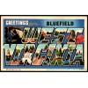 Bluefield, West Virginia, Large Letter Postcard Americas