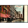 Boston, Mass Washington Street, Litho Postcard Americas