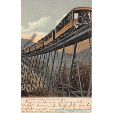 Frankenstein Trestle, White Mountain Notch - New Hampshire 1907 Americas