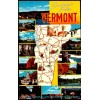 Greetings From Vermont - Chrome Postcard $1 Box