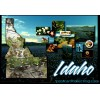 Idaho Map Postcard - Gem State $1 Box