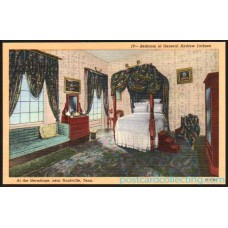 Nashville, TN - Andrew Jackson's Home Bedroom - Postcard $1 Box