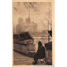 Paris, France - 7 Postcard Lot - Paris En Flanant Yvon 6 - 10