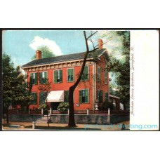 Springfield, ILL Abraham Lincoln's Residence - Litho Postcard $2 Box
