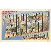 St. Augustine Florida, FL Greetings From - Large Letter Postcard Americas